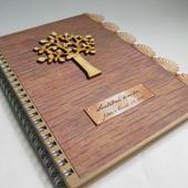 Svatební kniha Rustic,