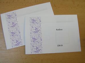 Obálky...vlastní výroba...