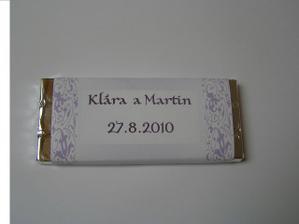Čokoládka pro hosty...:-)