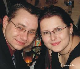 Tak to jsem já a můj miláček - brzy manžílek;)