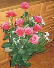 Zásnubní kytička - Bubišek je prostě romantik;)