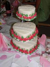 Svadobná torta,chutila aj vyzerala fantasticky