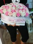 Box mydlovych ruží ,