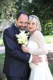 Nevěstu Naďu jsem líčila na její krásnou retro svatbu, účes není ode mě.