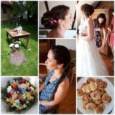 Malá koláž telefonem z krásné sobotní svatby super páru.