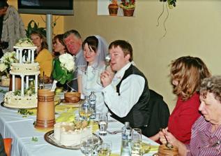 První společný oběd