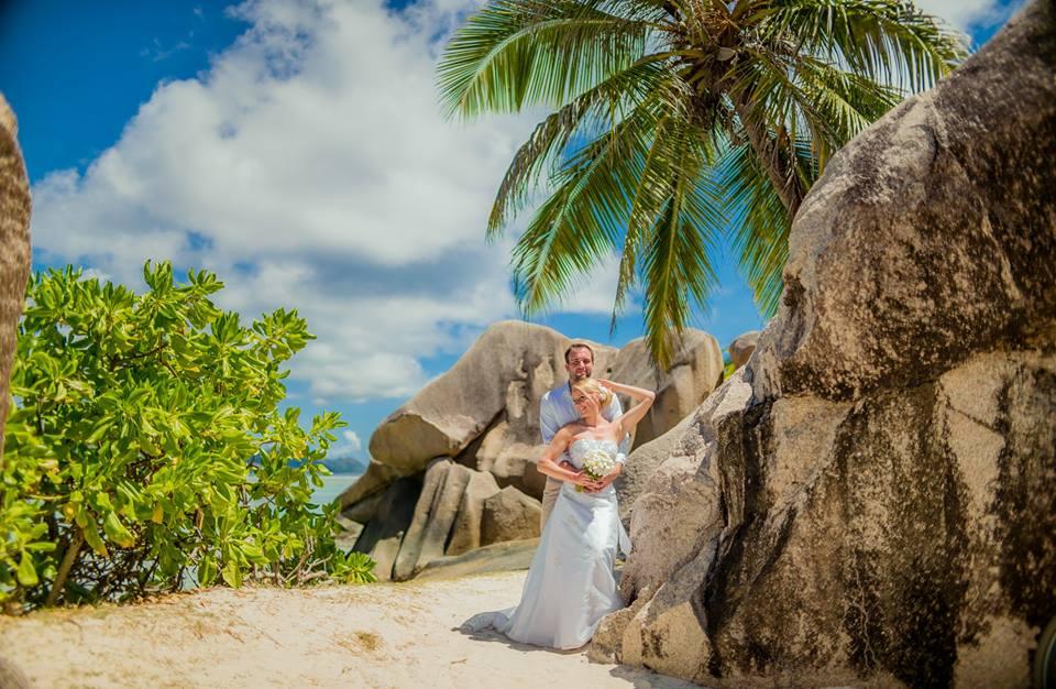 Seychely, La Digue - ještě jedna gratulace - Obrázek č. 3