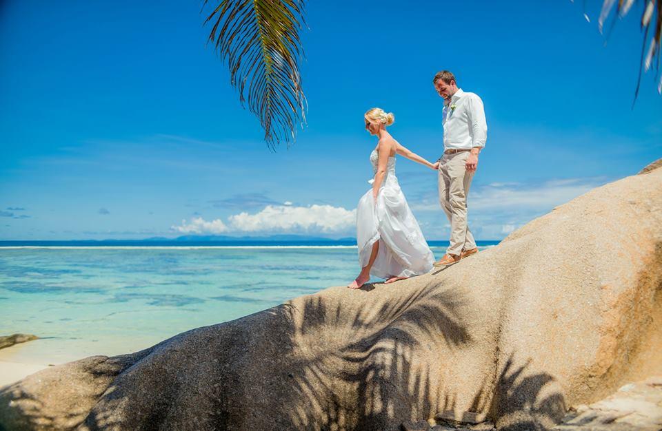 Seychely, La Digue - ještě jedna gratulace - Obrázek č. 1