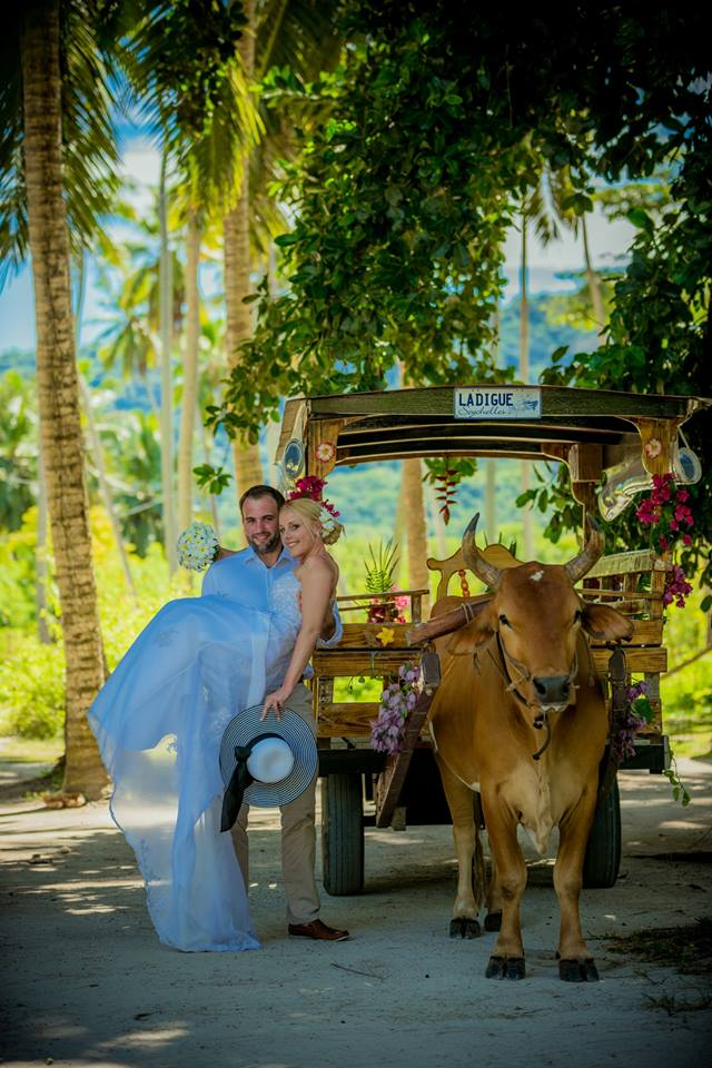 Seychely, La Digue - ještě jedna gratulace - Obrázek č. 2