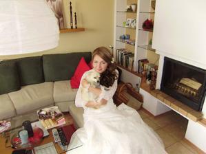 spolu s Maxom sme čakali na ženícha :)