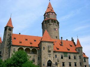 ...pohádkový hrad Bouzov...