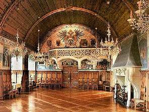 hrad Bouzov - Rytířský sál