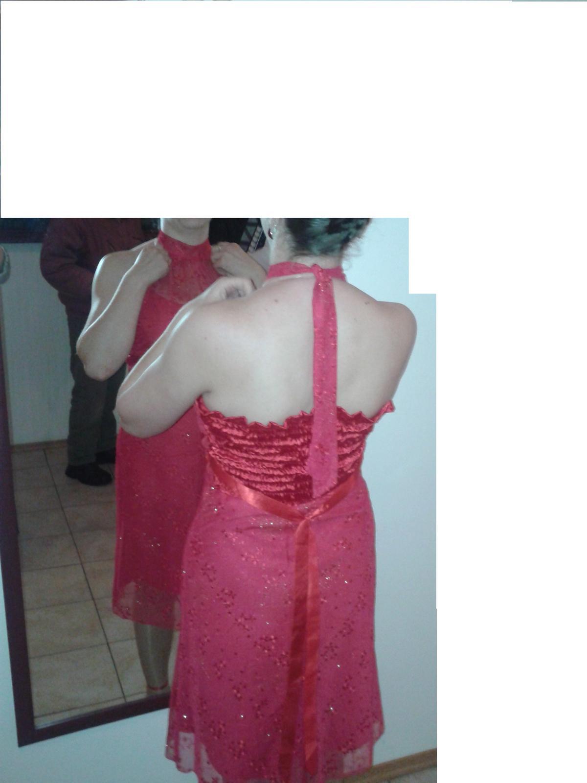 Šaty s viazaním ku krku - Obrázok č. 1