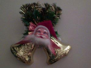 na dverach vita navstevu Santa Klaus