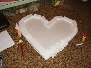 výroba 2hého srdca