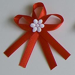Červené svatební vývazky - Obrázek č. 1