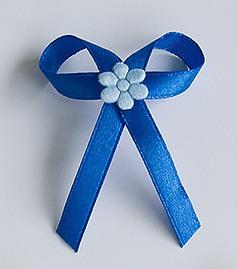 Modré svatební vývazky - Obrázek č. 1