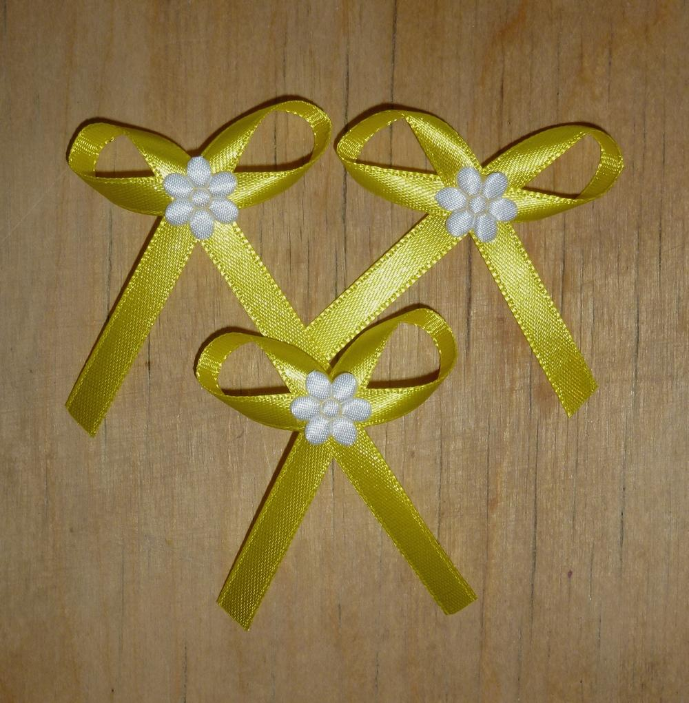 Žluté svatební vývazky - Obrázek č. 1