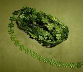 Prýmek saténový květ 10 mm,