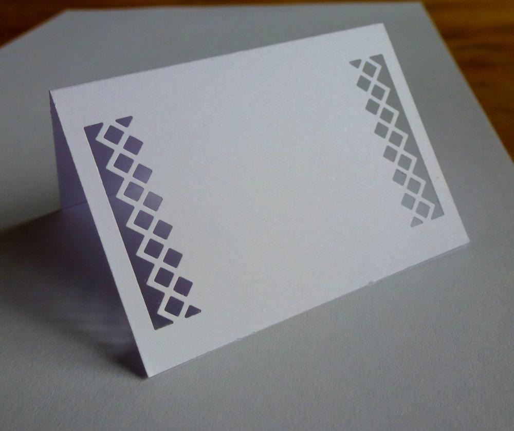 Bílé jmenovky na svatební stůl - Obrázek č. 1