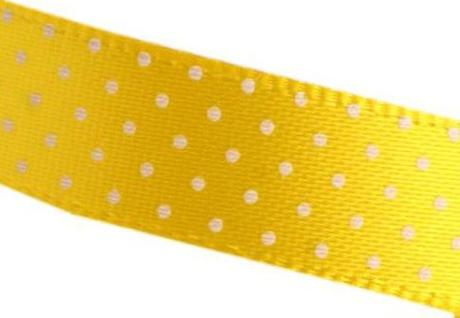 Saténová stuha puntíkovaná - šíře 10 mm - Obrázek č. 1