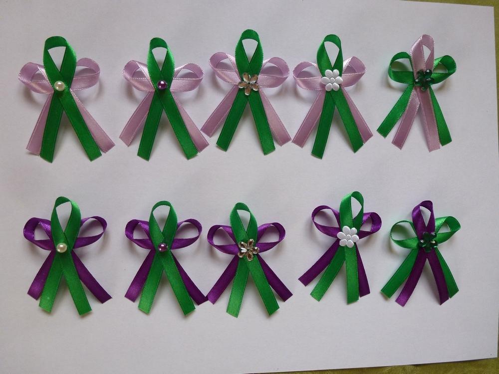 Fialovo-zelené vývazky - Obrázek č. 1