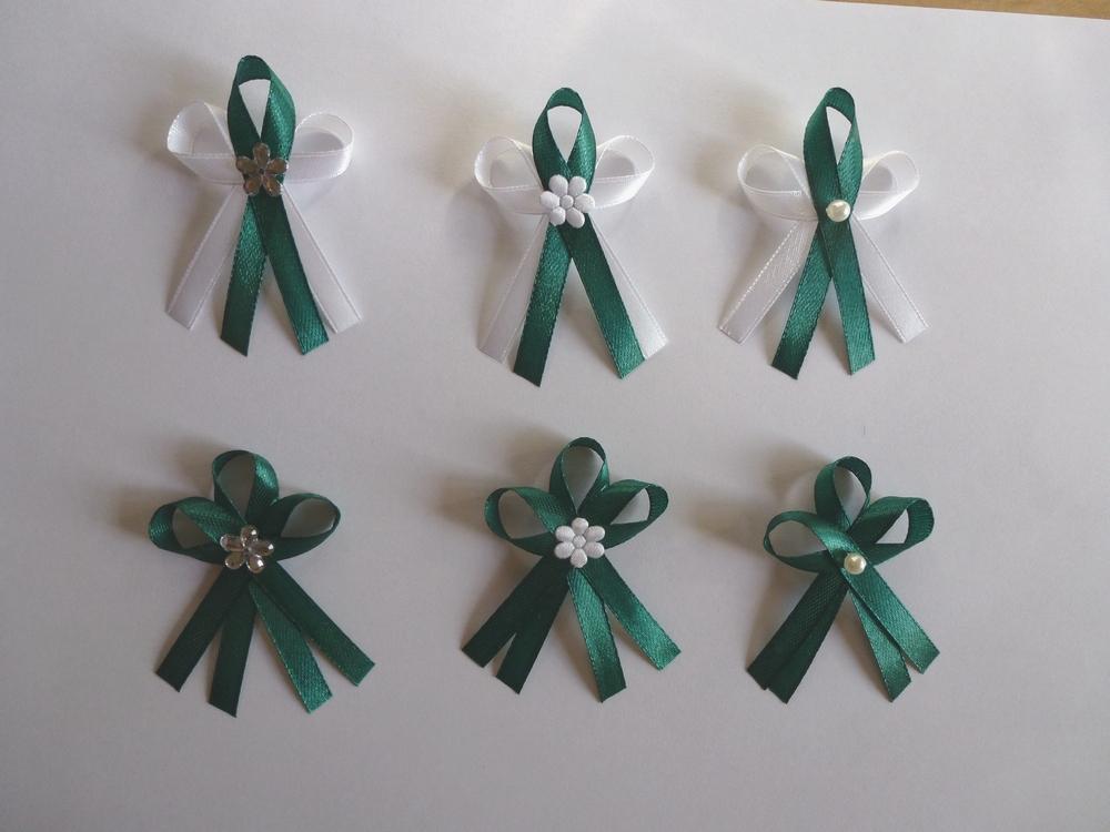 Smaragdově zelené vývazky - Obrázek č. 1