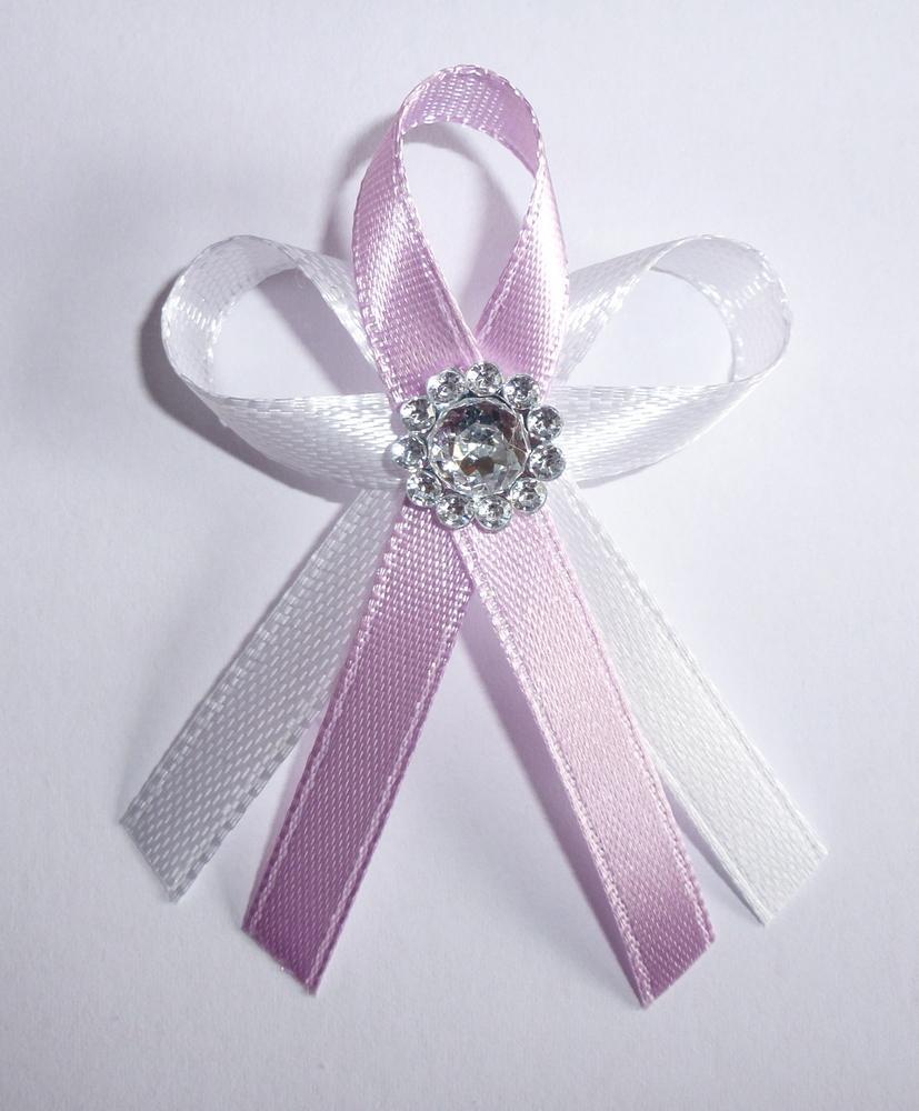 Světle fialové svatební vývazky - Obrázek č. 1