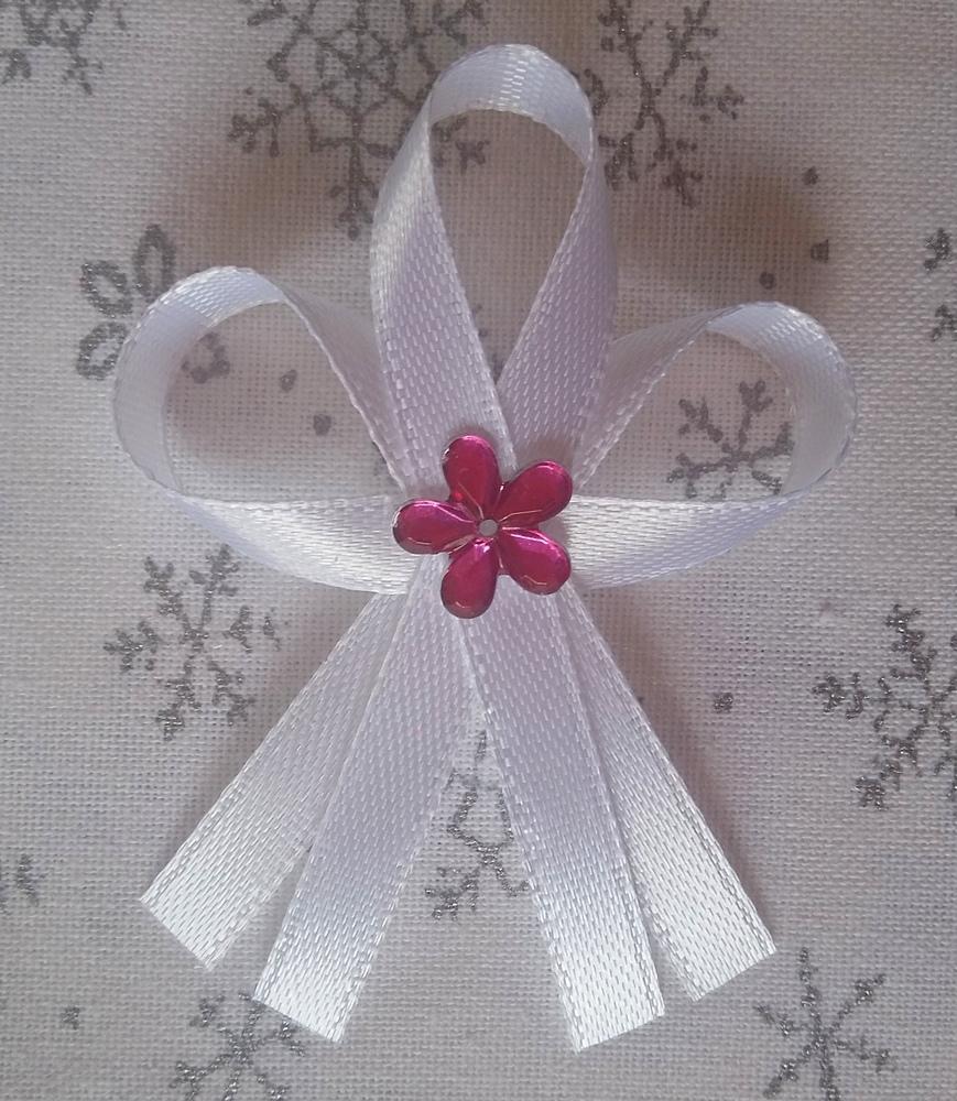 Bílé svatební vývazky - Obrázek č. 1
