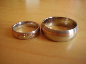 tak to jsou oni, naše prstýnky :o)