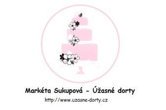Markéta Sukupová letos vyhrála 1. místo v kategorii Svatební dort roku 2015 - termín zamluvený :)