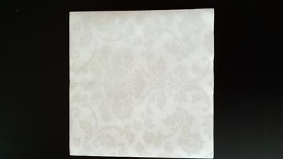 Ubrousky na slavnostní tabuli Airlaid Victoria Bianco