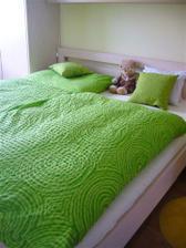 Nové posteľné obliečky ... snívame v zelenom