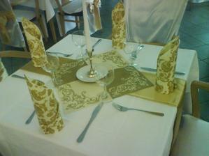 výzdoba v našej reštaurácii