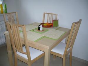 Kompletné sedenie v kuchyni