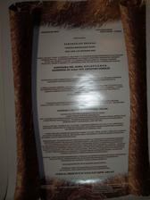 text personálneho rozkazu
