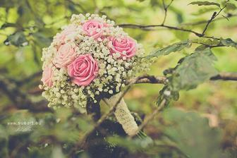 podobnú kyticu by som chcela, gypsomilky a anglické ruže :)