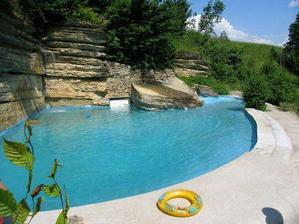 to je ale bazen, krása