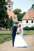 svatební šaty velikost 34-36, 36