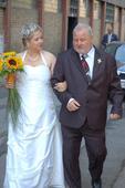 Svatební šaty vel. 46, 46