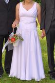 Svatební šaty z Anglie vel M-L, 42