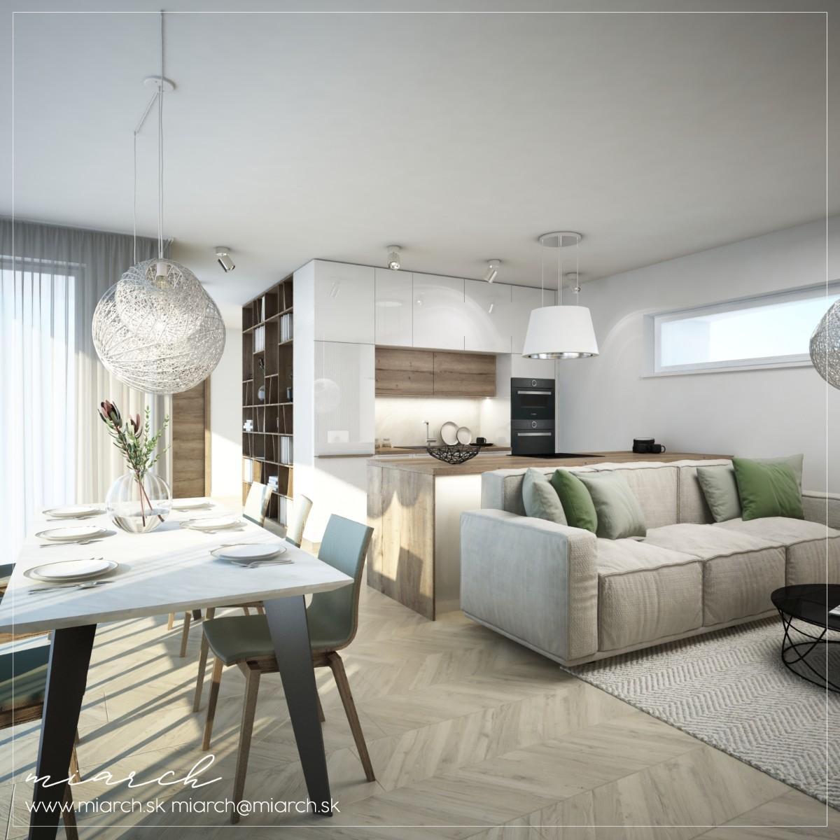 Návrh interiéru - Bytový dom Rovinka B2 - Obrázok č. 2