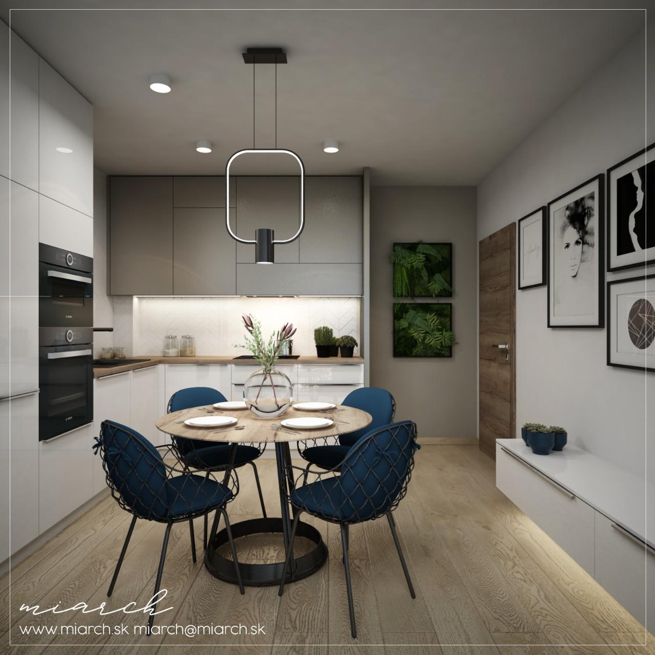 Návrh interiéru - Bytový dom Rovinka AP2 AP6 - Obrázok č. 2