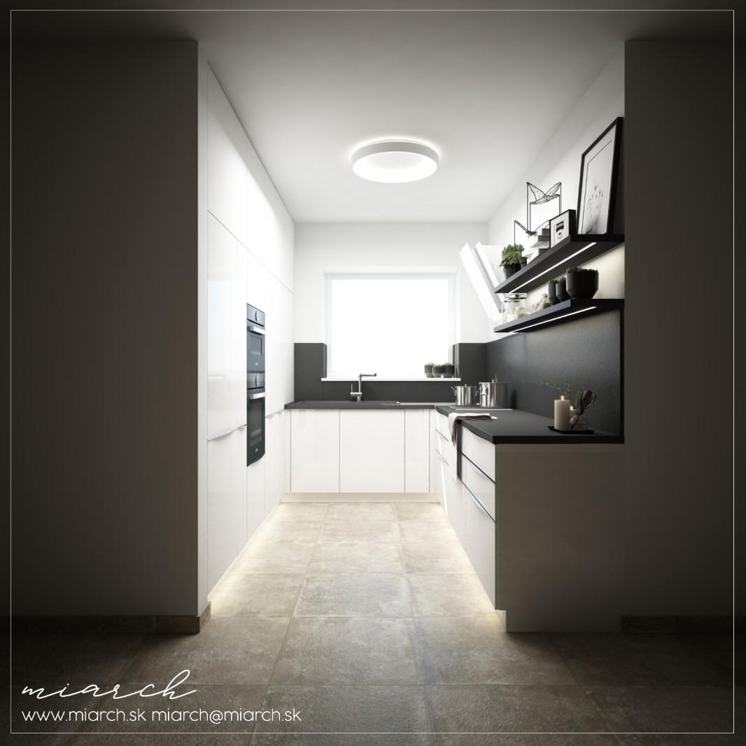 Vizualizácie kuchynskej linky podľa Vašich podkladov - Obrázok č. 1