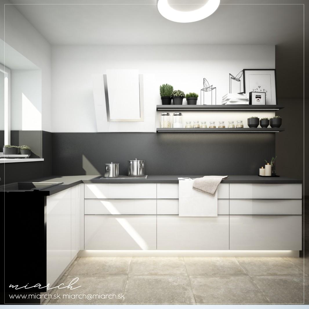 Vizualizácie kuchynskej linky podľa Vašich podkladov - Obrázok č. 2