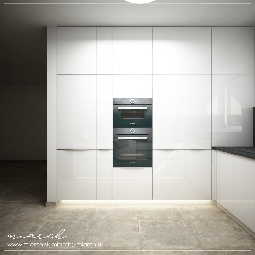 Vizualizácie kuchynskej linky podľa Vašich podkladov - Obrázok č. 3