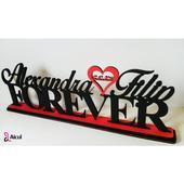Aicul - Vaše jména na nápisu Forever,