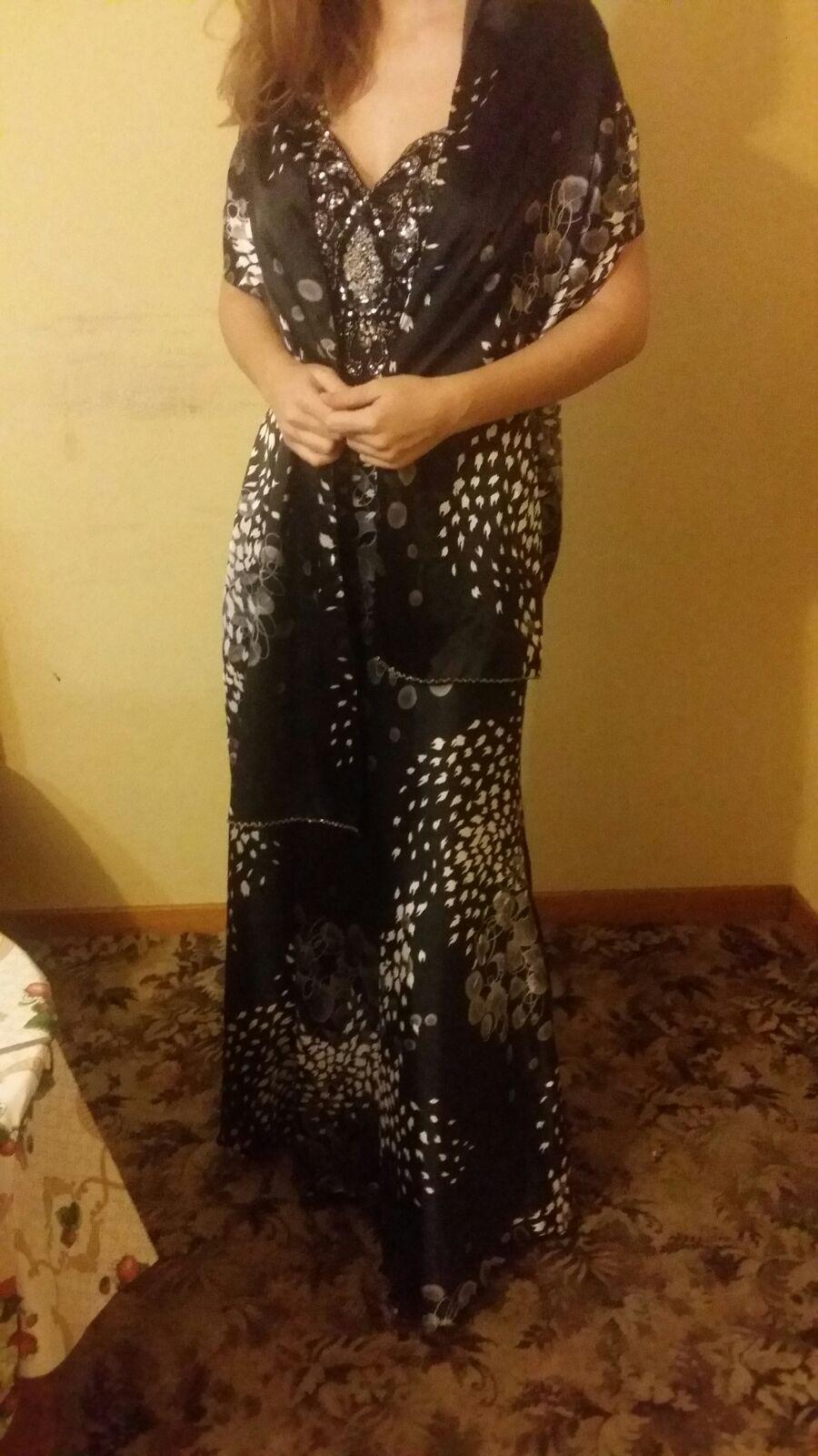 Dámske spoločenské šaty, veľkosť 38 - Obrázok č. 4