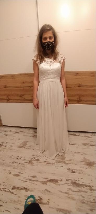 Svadobné šaty veľkosť 38 - Obrázok č. 2