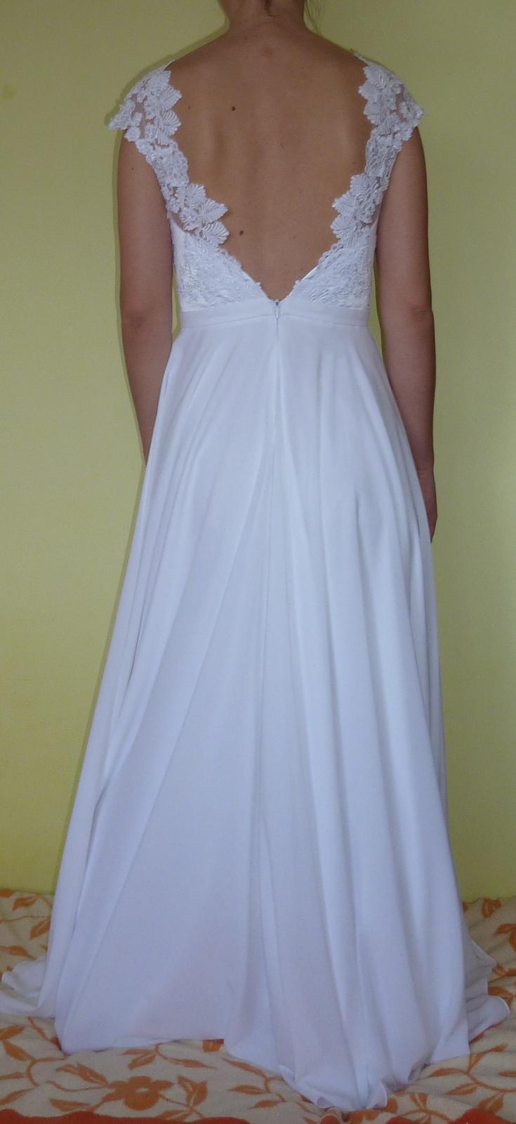 Svadobné šaty veľkosť 38 - Obrázok č. 4